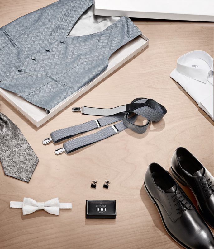 Hochzeitsbekleidung für den Bräutigam